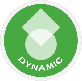 Dynamische templates, audience groups, dynamic feeds & tracking.